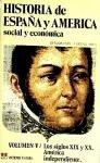 Historia de España y América. Social y: Vicens Vives, J.