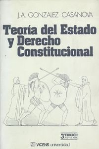 9788431618872: Teoría del Estado y Derecho Constitucional (Vicens universidad) (Spanish Edition)