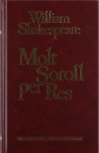 9788431629267: Molt Soroll Per No Res (Obra Completa de William Shakespeare)