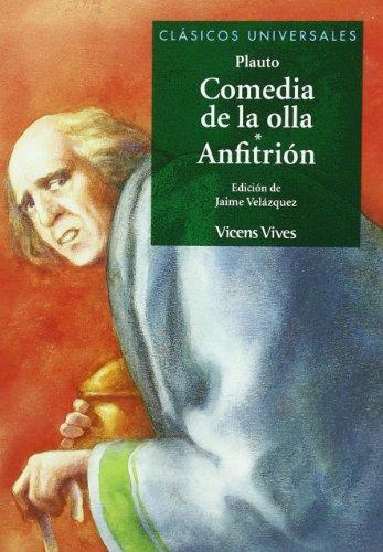 Comedia de la olla. Anfitrión. Edición de Jaime Velázquez.: PLAUTO
