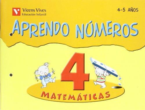 9788431636753: Aprendo números. Cuaderno 4