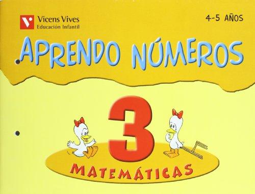 9788431636760: Aprendo Números. Cuaderno 3 - 9788431636760