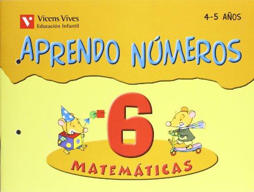 9788431636920: Aprendo Números. Cuaderno 6 - 9788431636920