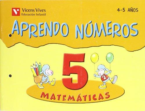 9788431636937: Aprendo Números. Cuaderno 5 - 9788431636937