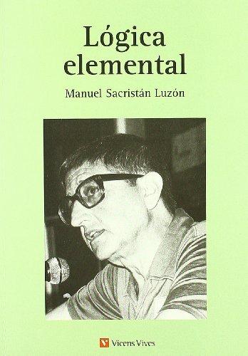 9788431637132: Logica elemental (Spanish Edition)
