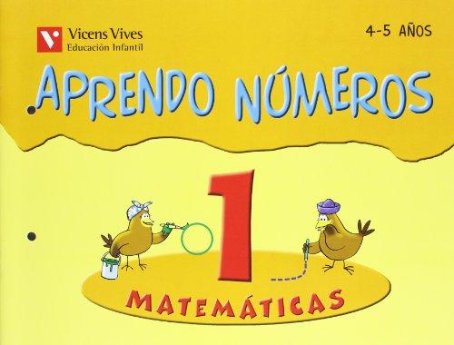 9788431637446: Aprendo Números. Cuaderno 1 - 9788431637446