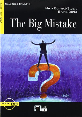 9788431642457: The Big Mistake+cd (Black Cat. reading And Training)