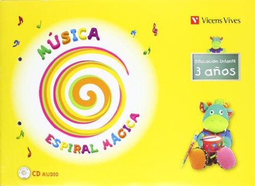 9788431654320: Espiral Magica. Musica 3-4 Años (Espiral Magica Material Alumno) - 9788431654320