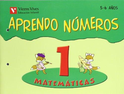 9788431654498: Aprendo números. Cuaderno 1