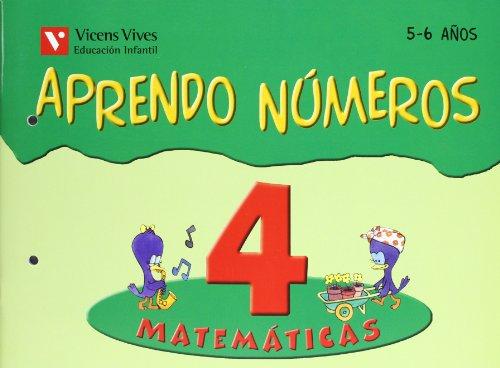 9788431659905: Aprendo números. Cuaderno 4