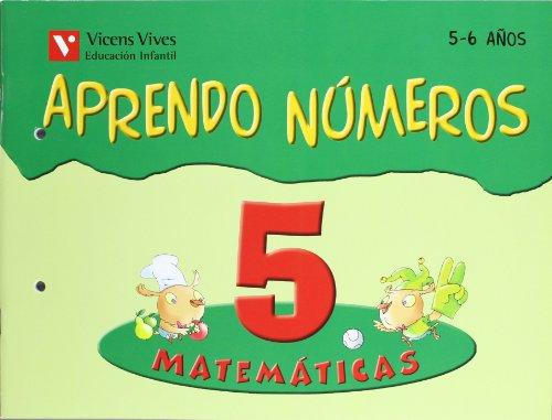 9788431659936: Aprendo Números. Cuaderno 5 - 9788431659936