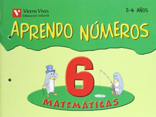 9788431659967: Aprendo Números. Cuaderno 6-9788431659967