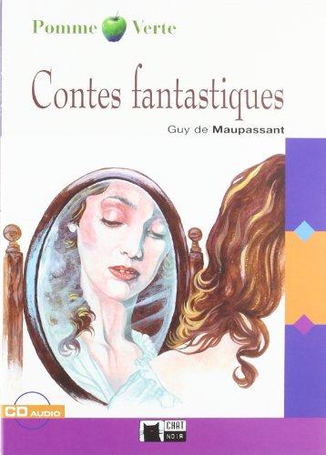 9788431660161: Contes Fantastiques. Livre (+CD) (Chat Noir. Pomme verte)