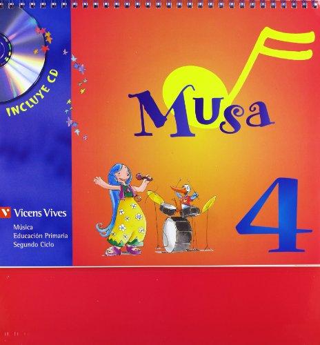 9788431661021: MUSA 4 PRIM ALUMNO+CD