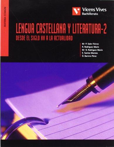 Lengua castellana y literatura 2 (desde S.: Rodriguez Marin, Rafael