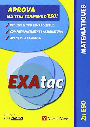 9788431665012: Exatac 2 ESO. Matemàtiques (Exatac. Català) - 9788431665012