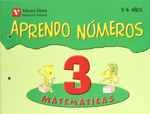 9788431666064: Aprendo números. Cuaderno 3
