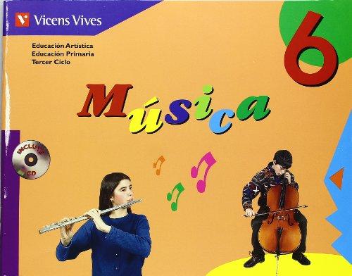 9788431666071: MUSICA 6 +CD N/E: 000002 - 9788431666071