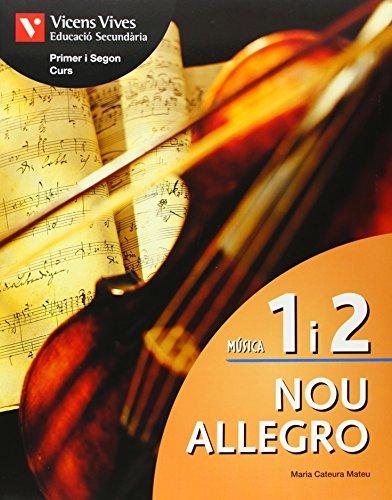 9788431667207: Nou Allegro 1 I 2+cd+activitats