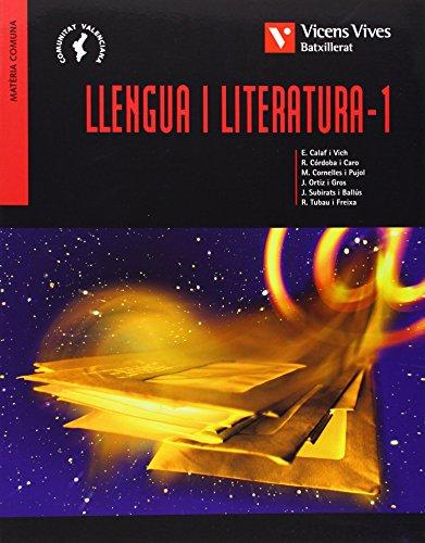 9788431667771: Llengua I Literatura 1 Valencia Batxillerat - 9788431667771