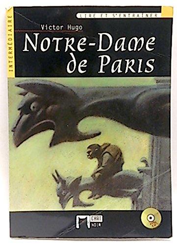 9788431668969: Notre-Dame de Paris. Livre + CD (Chat Noir. Lire Et S'entrainer)