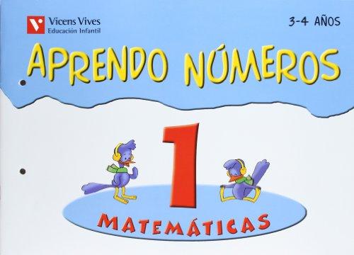 9788431669799: APRENDO NUMEROS CUADERNO 1 (3-4 AÑOS)