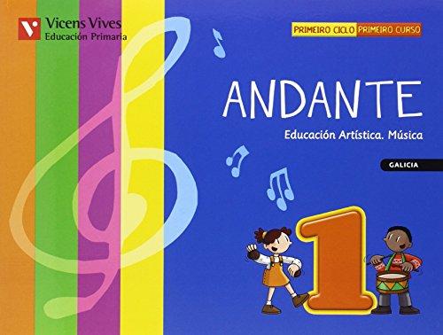 9788431670849: (G).(10).ANDANTE 1ºPRIM. *MUSICA GALEGO*