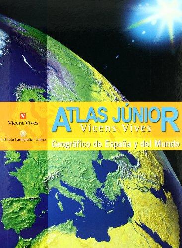 9788431673321: Atlas Junior - Geografia de Espana y del Mundo (Instituto Catografico Latino)