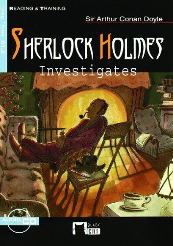 9788431677558: SHERLOCK HOLMES INVESTIGATES+CD N/E (Black Cat. reading And Training)