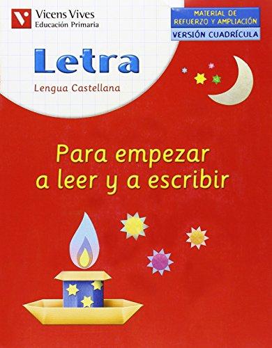 9788431677640: Letra Para Empezar A Leer Y Escribir