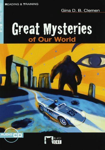 9788431680336: Great Mysteries Of Our World. Book (+CD) (Black Cat. reading And Training)