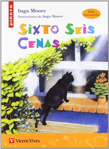 9788431680794: Sixto Seis Cenas (letra Manuscrita) (Colección Piñata) - 9788431680794