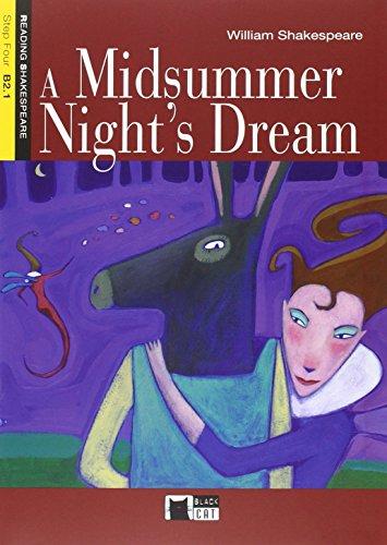 A MIDSUMMER NIGHT'S DR+CD: Cideb Editrice S