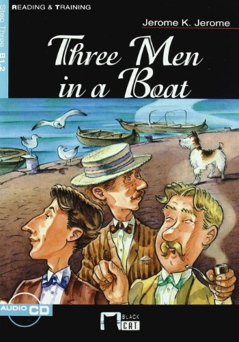 9788431681647: Three Men in a Boat. Book + CD (Black Cat. reading And Training)