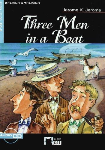 9788431681647: THREE MEN IN A BOAT+CD