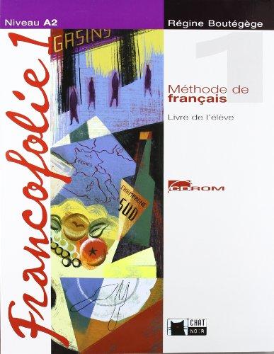 9788431681814: Francofolie 1. Livre + CD-ROM + Portfolio