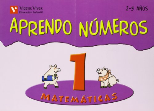 9788431681906: Aprendo Números. Cuaderno 1 - 9788431681906