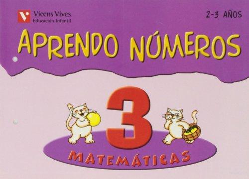 9788431681920: Aprendo Números. Cuaderno 3 - 9788431681920
