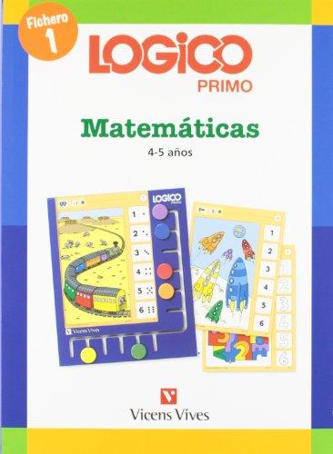 9788431682392: Logico Primo Matematicas 1 (4-5años) - 9788431682392
