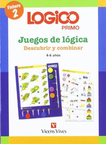 9788431682408: Logico Primo 2 Descubrir Y Combinar - 9788431682408