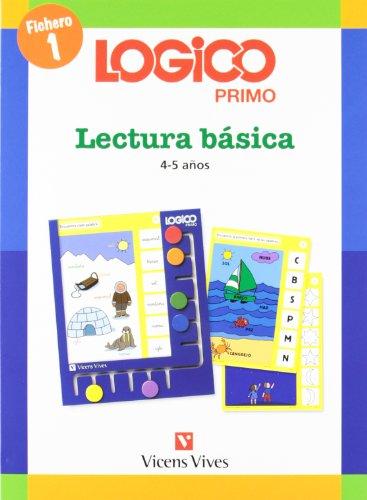 9788431682736: Logico Primo Lectura Basica 1 (4-5 Años)