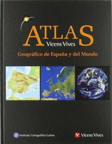 Atlas geográfico de España y el mundo (Paperback)