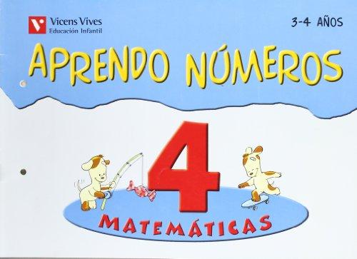 9788431684358: Aprendo números. Cuaderno 4