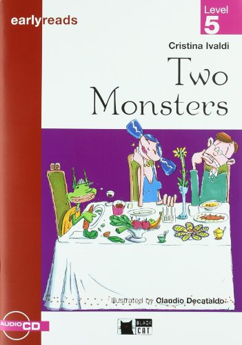 9788431684501: Two Monsters. Book + CD