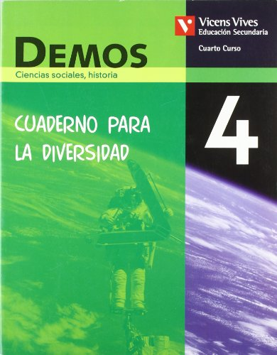9788431685737: Demos 4 Cuaderno Diversidad. Ciencias Sociales,