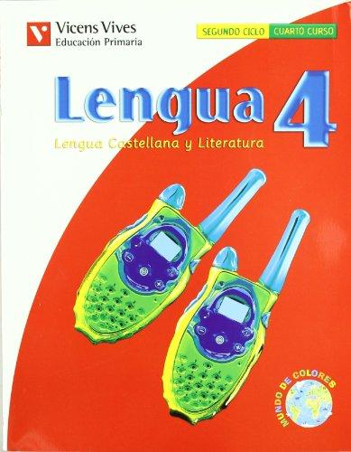 9788431686611: Lengua, lengua y literatura, 4 Educaci¥n Primaria