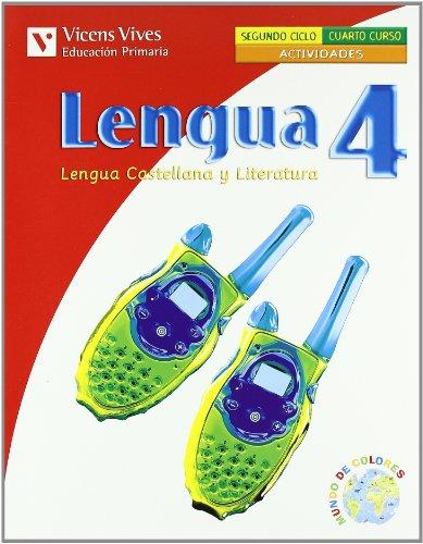 9788431686628: Lengua 4 Actividades. Lengua Y Literatura. Cuarto - 9788431686628