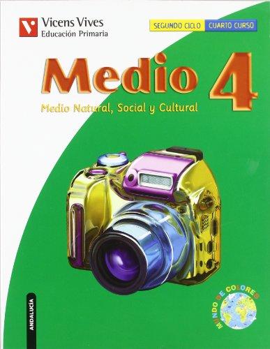 9788431686666: Medio, medio natural, social y cultural, 4 Educación Primaria (Andalucía)