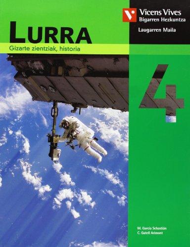 9788431689124: Lurra 4 Nafarroa. Gizarte Zientziak, Historia