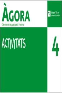 9788431689896: Agora 4 Activitats. Ciencies Social, Geografia I Historia